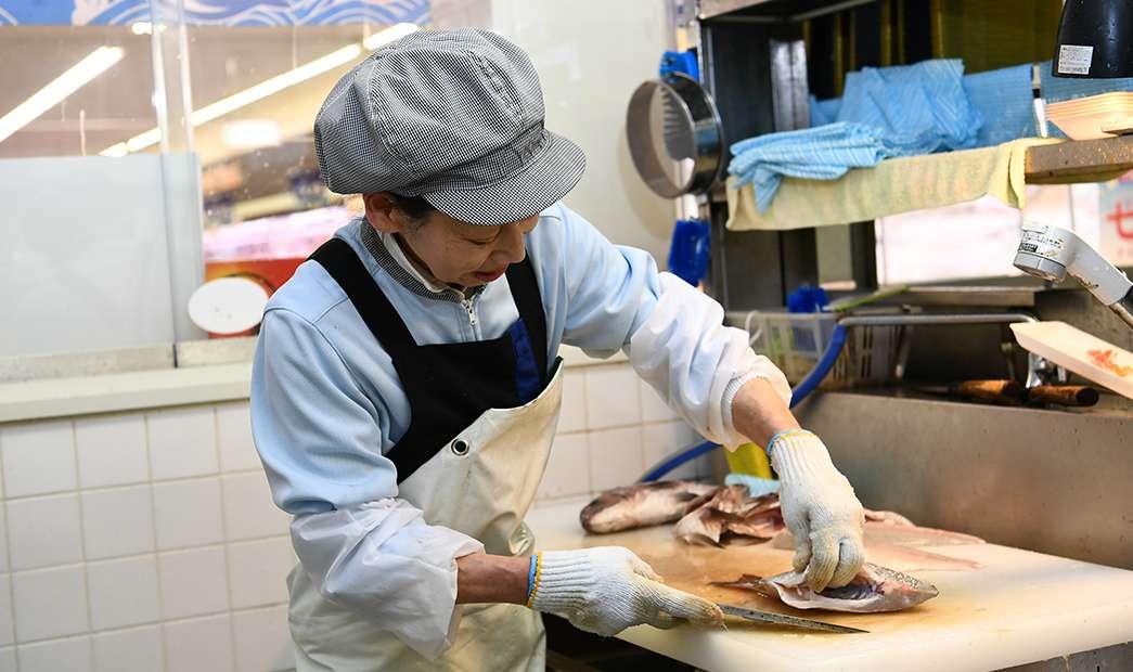 お魚調理承ります!